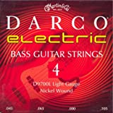 C. F. Martin D-9700L Jeu de 4 cordes pour Basse électrique Nickel Light .045-.105