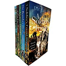 Megan rix collection soldier's friend, bomber, victory, great fire dog and great escape 5 books set