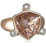 DYRBERG / KERN Women's Ring Stainless Steel Crystal 33666-Pink