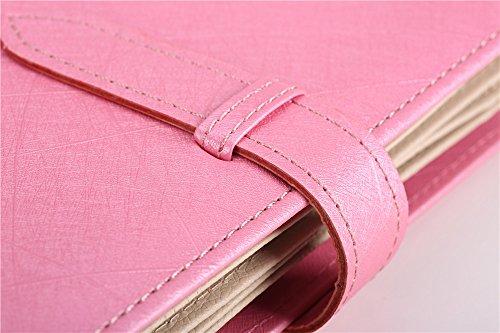 Ohrringhalter Schmuckkästchen Ohrringe Aufbewahrung Ohrringständer Schmuckständer Weihnachtsgeschenk Geburtstagsgeschenk für Mädchen Frauen Damen (Pink) - 5