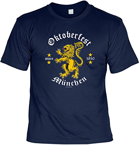 Oktoberfest München Wiesn T-Shirt Bier Brezen Tracht Dirndl Bayern bayrisch witzig funny lustig (T-shirt Gesicht, Funny Cool)