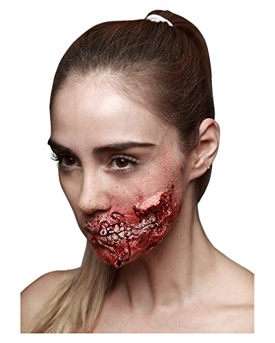 Halloween Zombie Kieferfraß Latexwunde (Halloween Makeup)