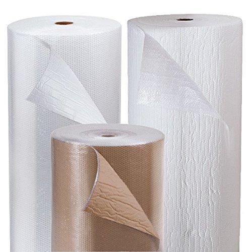 Propac z-airkq14Film A Blasen mit Papier, weiß, 72m x 125cm Blase Film