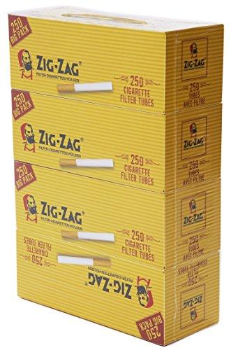 Zig Zag - Filtros 4 paquetes de 250 unidades