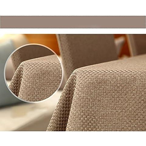Per fine gezhi Kaki moderno minimalista Solid colore tovaglia tovaglie