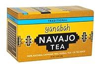 Yanabah Navajo Caffeine Free Herbal Tea, 20 Tea Bags