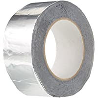 BONUS Eurotech 1BS06.11.0050/010# Butylband aus Aluminium, Breite 50 mm, Länge 10 m, Dicke 0,7 mm, Grau