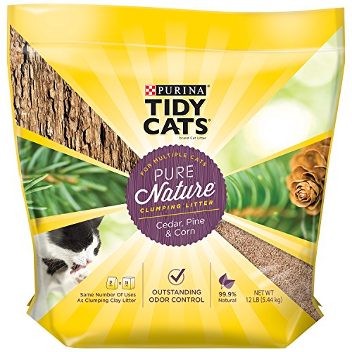 tidy-cats-pure-nature-cedar-corn-pine-clumping-litter-12lb-54kg-by-nestle-purina-petcare-company