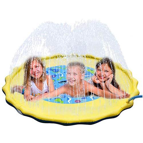 by Waten Kiddie Squirt Spaß Pool Im Freien Spray Matte Für Rasen Strand Spielen Spiel Sprinkler Matte ()