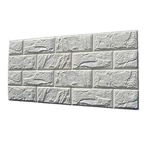 30 60cm adesivo 3d muro di mattoni pannello autoadesiva for Pannelli adesivi 3d