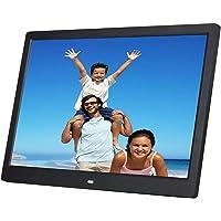 Digitaler Fotorahmen 14 Zoll 1280 x 800 hochauflösend mit Fernbedienung für Foto- / Musik- / Video-Player, Kalenderalarm…