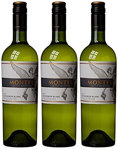 Montes Limited Selection Leyda Sauvignon Blanc 2014/2015 Wine 75 cl (Case of 3)
