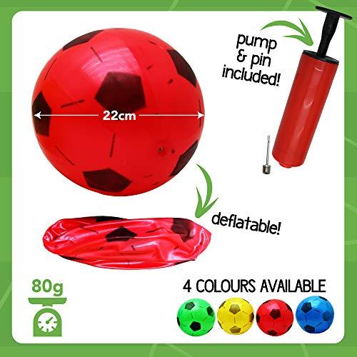 Zoom IMG-1 twiddlers 12 pallone calcio gonfiabili