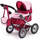 Bayer Design 13014 - Puppenwagen Trendy bordeaux