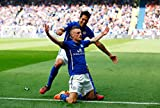 Leicester City FC - Jamie Vardy - Football Wall Poster