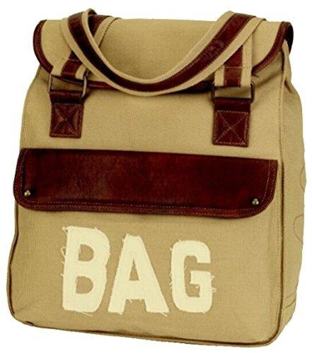 Alessandro® LINO 3129 Handbag Messenger Umhängetasche Schultertasche 2 Farben Sand