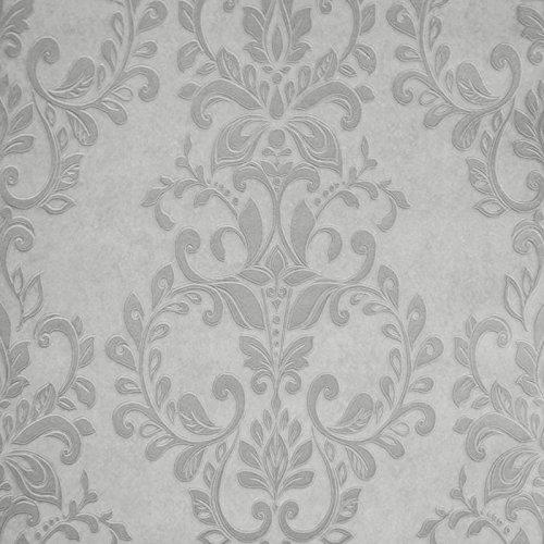 muriva-carta-da-parati-con-motivo-damasco-colore-argento