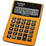 Olympia LCD 1000P Tischrechner orange