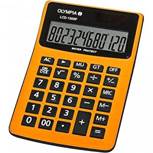 Olympia LCD1000P Calculatrice Orange