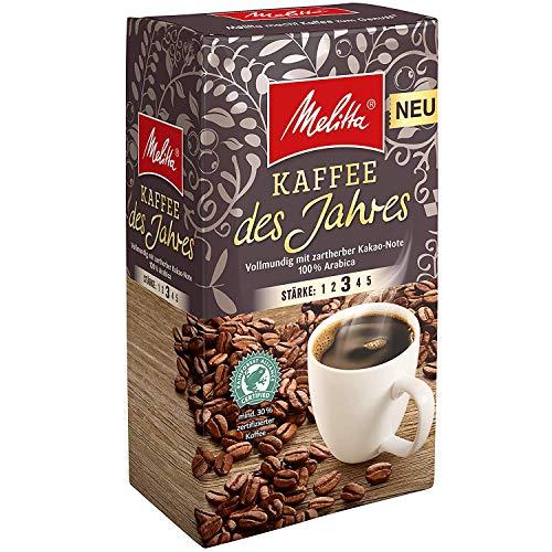 Melitta Kaffee des Jahres 2018 100% Arabica Filterkaffee 12x 500g (6000g) - Melitta Café gemahlen