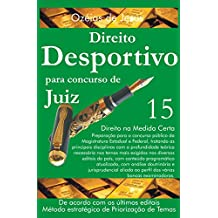 Concurso para Juiz: Direito Desportivo (Portuguese Edition)