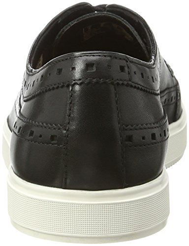 Clarks Herren Calderon Limit Oxford Schwarz (Black Leather)