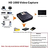 Multi–Function DVD Media/Medical Recorder/Burner External – No PC Required – Direct Video Record to USB Drive/HDD, SD Card, DVD