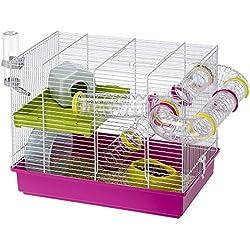 Ferplast Cage à Hamster Laura avec Accessoires