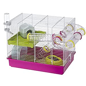 Ferplast Laura Hamster Cage with Accessories-color may vary