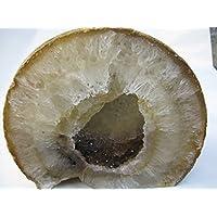 Natural Mente - Achat,Achatende,6,66 kg,ca.23x20cm,Mineral,Kristall,Heilstein,Achatgeode,Nr.661 preisvergleich bei billige-tabletten.eu
