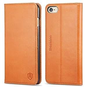 Housse iPhone 6s Plus, SHIELDON Etui Portefeuille Coque Protection pour iPhone 6 Plus (5.5