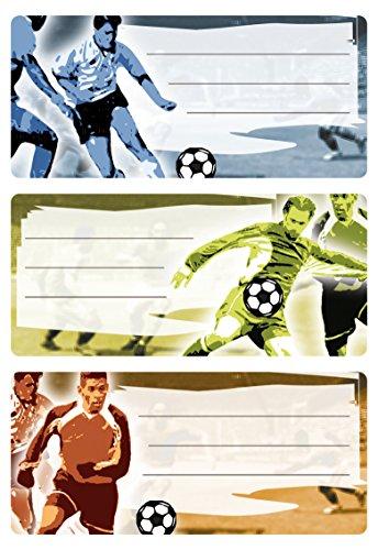 HERMA 5598Nombre cuaderno etiquetas Escuela, diseño
