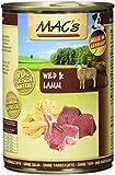 Mac's Wild & Lamm (mit Nudeln), 6er Pack (6 x 400 g)