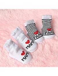 Outstanding® Lindo calcetines de bebé unisex del niño recién nacido suaves calcetines de algodón
