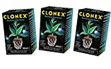 Clonex Growth Technology Gel Professionale per talee e Radici, 3x 50ml