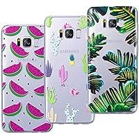 VemMore [3 Packs] Kompatibel für Galaxy S8 Hülle Transparent Weiche Silikon Handytasche Handyhülle Schutzhülle... preisvergleich bei billige-tabletten.eu