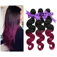 Angel Hair @ 5A Ombre Hair Extensions 12-30 Inch Purple