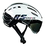 Casco Speedairo RS–Casque de cyclisme, couleur blanc/noir M blanc/noir