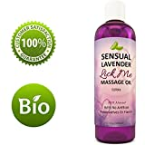 Edible Massage Oil And Lubricant - Sensual Massage Oil With Lavender And Almond