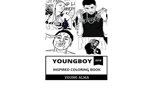 Amazon In Buy Youngboy Inspired Coloring Book Rap Prodigy And