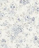 Rasch paperhangings 516012Tapete Wandverkleidung,–blau (12-teilig)