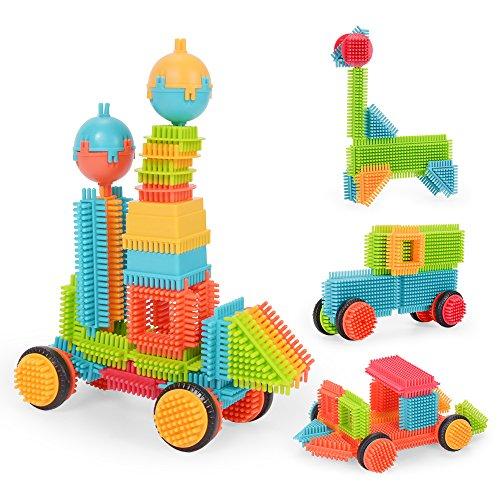 NextX Bausteine Konstruktionsspielzeug Pädagogische Spielzeug Geschenk Für Junge und Mädchen (90 Teile)