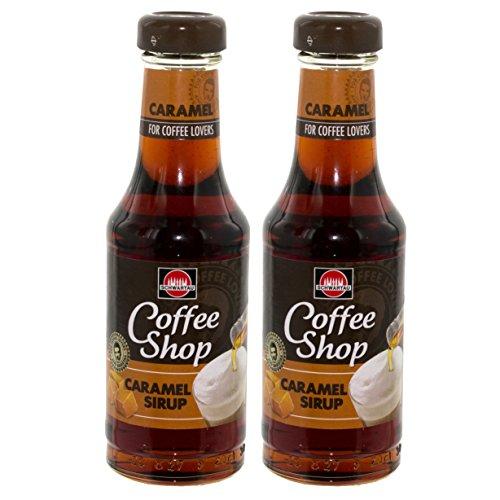 Schwartau Coffee Shop Caramel Sirup, für Kaffee, Dessert und Cocktails, 2er Pack