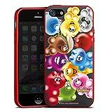 Apple iPhone 5 Silikon Hülle Rot Case Schutzhülle Gelini Gummibaerchen Colourful