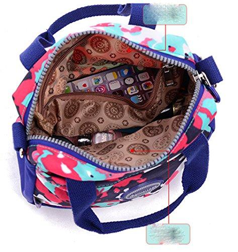 Keshi Nylon Niedlich Damen Handtaschen, Hobo-Bags, Schultertaschen, Beutel, Beuteltaschen, Trend-Bags, Velours, Veloursleder, Wildleder, Tasche Mehrfarbig 1