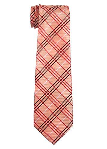 Retreez Tartan Plaid Styles tissé de de 8–10ans–Garçon–différents coloris Orange