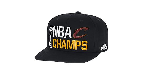 b6540f5d0b27a adidas NBA Cleveland Cavaliers Men s 2016 Champions Flat Brim Snapback Cap