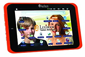 "LEXIBOOK Advance - Tablet (20,3 cm (8""), 800 x 600 Pixeles, 4 GB, Android, 590 g, Negro, Naranja)"
