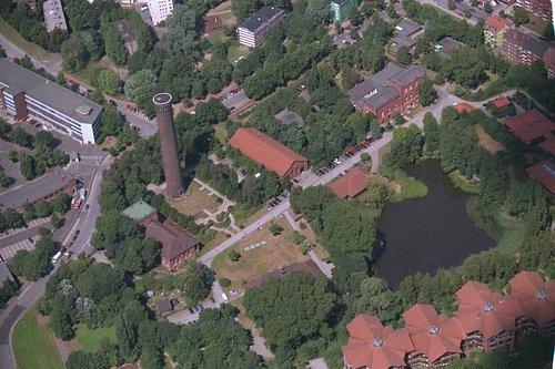 MF Matthias Friedel - Luftbildfotografie Luftbild von Ausschläger Elbdeich in Hamburg (Hamburg), aufgenommen am 30.07.99 um 12:38 Uhr, Bildnummer: 0780-02, Auflösung: 3000x2000px = 6MP - Fotoabzug 50x75cm