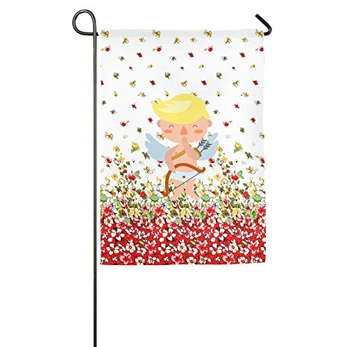 Floral Garden Yard Banner for Outside House Flower- Best for Party Yard and Home Outdoor Decor ()